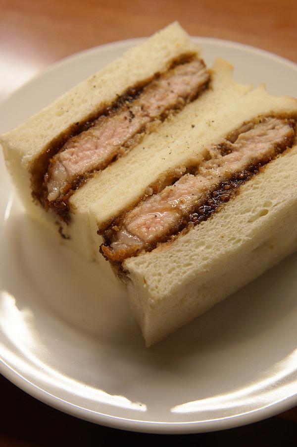 住吉「スペイン料理 LENTE」でイベリコ豚のカツサンドが旨過ぎた!!