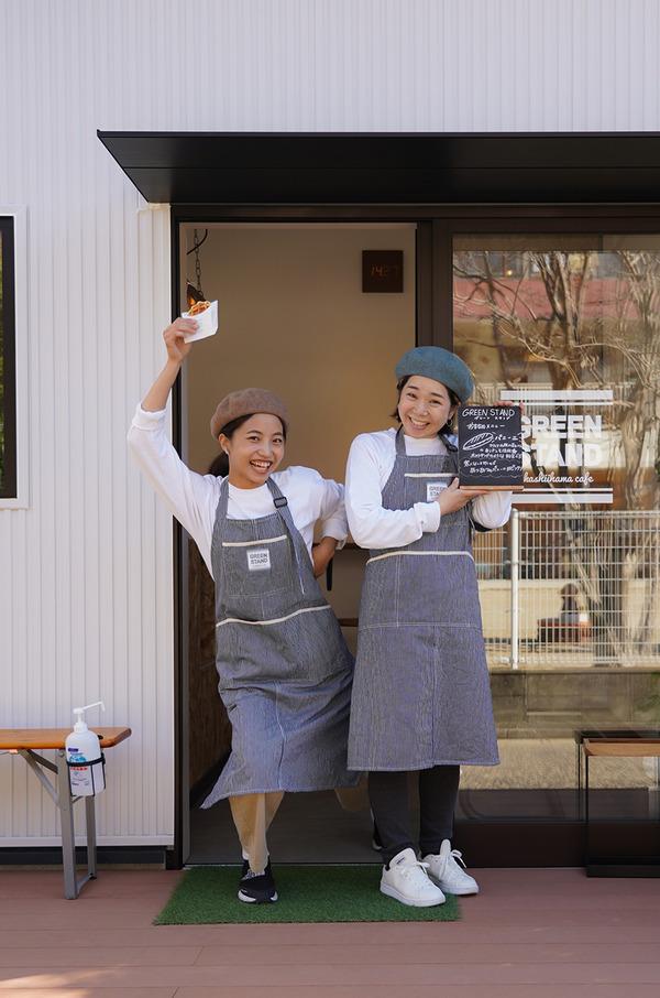 香椎浜【GREEN STAND】で陽気な女子とワッフルと珈琲。【カレバカカレー】【Basking Coffee】【Cafe檸檬】【珈琲小林】。