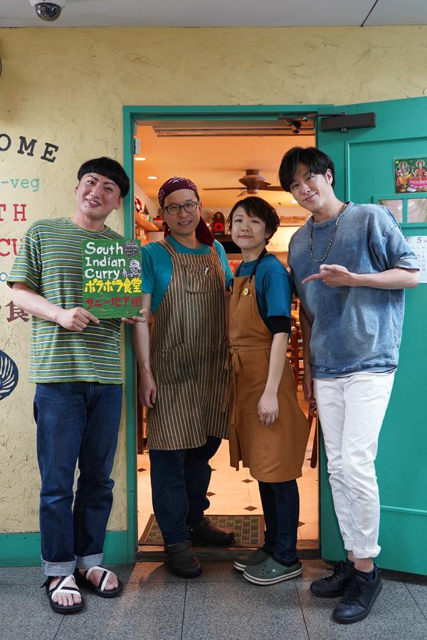 夜は赤坂【ポラポラ食堂】でビリヤニなど南インド料理を『カレバカ日誌』メンバーと。【公園通り】【LULU】。