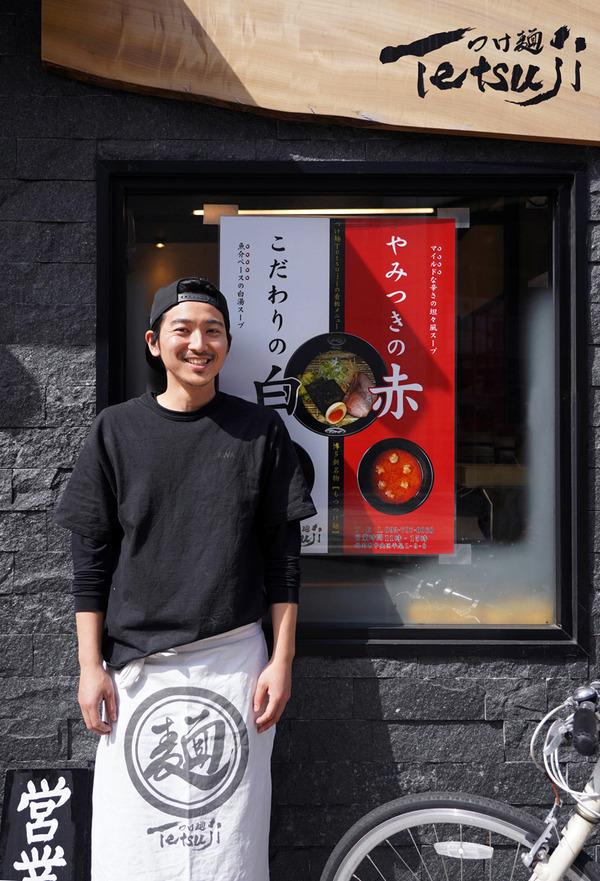 平尾【つけ麺 Tetsuji】で魚介つけ麺、からの【LULU】で抹茶プリン。夜は春日市【Indian Spice Factory】でターリーからの【Banx River】。