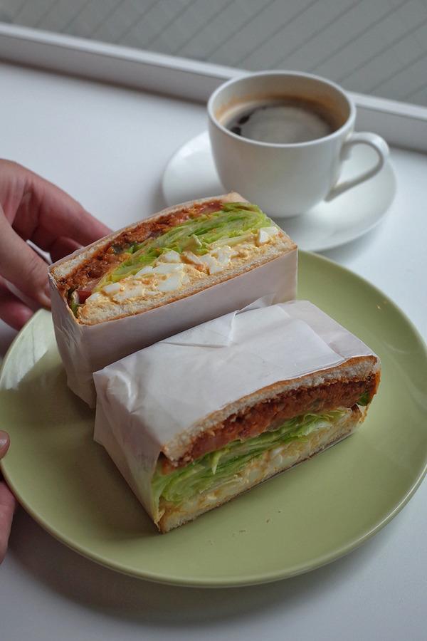中央区清川「sandelica」で美味しい手作りサンドウィッチ。