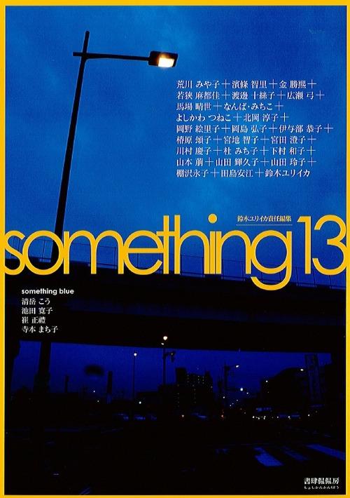 「something13」という本で写真を使って頂きました。