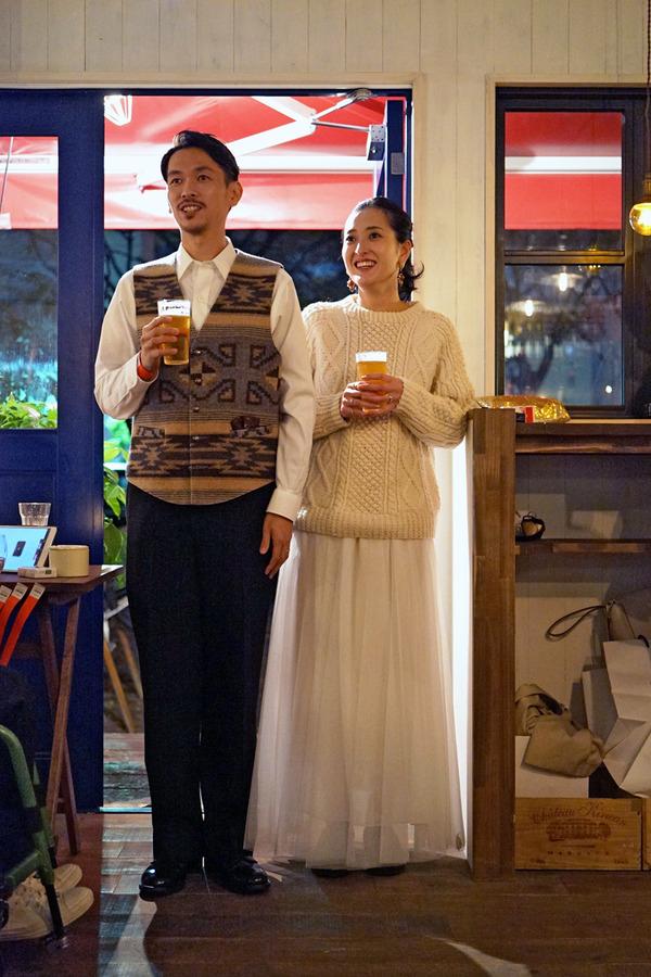 ケンゴ&キエちゃん、結婚おめでとう、からの東区筥松「ノダニク」でちょい肉。