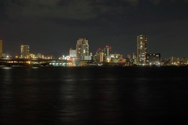 今夜のSIGMAな夜景は、長浜魚市場辺り。