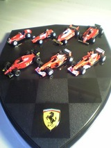 Ferrari が7台