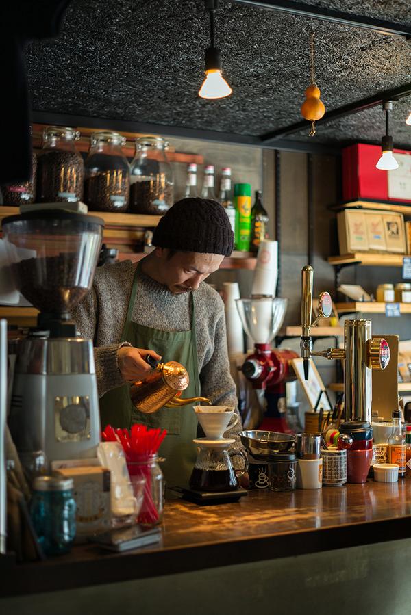 税理士さんと「MIMATSU Specialty Coffee Roaster」でエチオピアイルガチェフェG2。