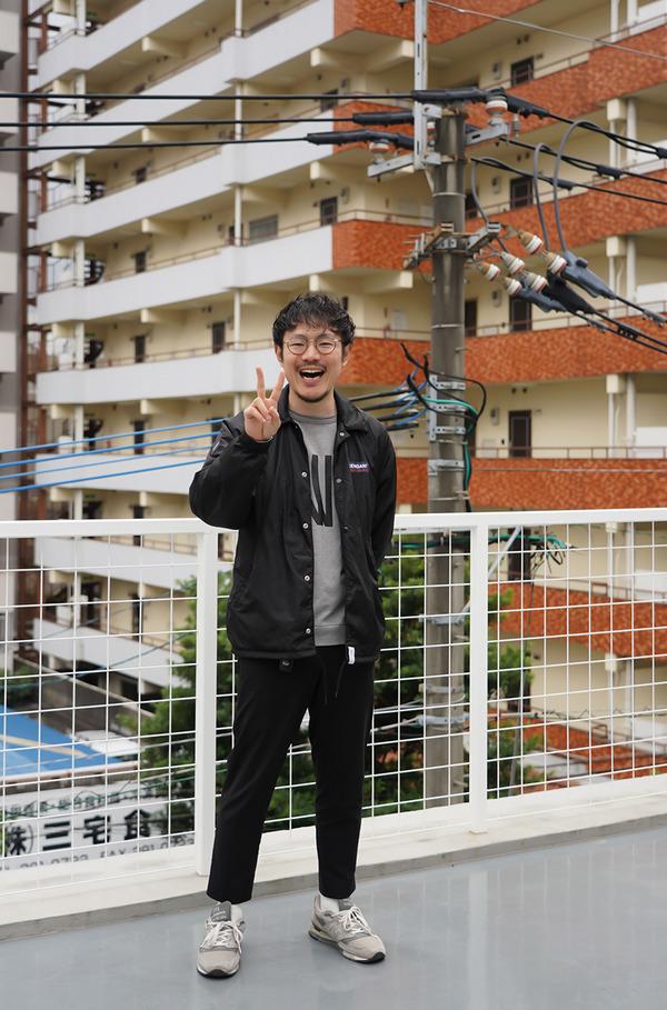 博多区大博町【alu coffee】の屋上からこんにちは。