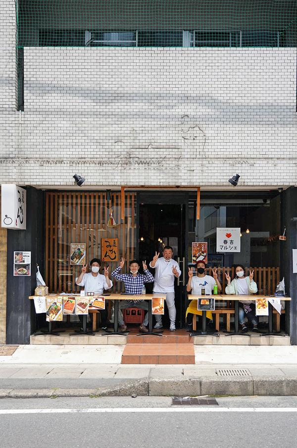『春吉マルシェ』で【鎮座タキビヤ】の藁焼豚ロース弁当。西鉄香椎駅前合同販売所で【トンキーモンキー】のソフトクリーム。そして高島福岡市長の最新ブログ。