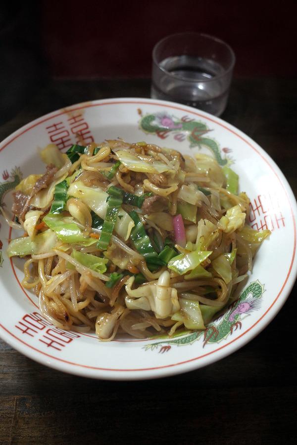 「一楽ラーメン 松島店」で皿うどん。