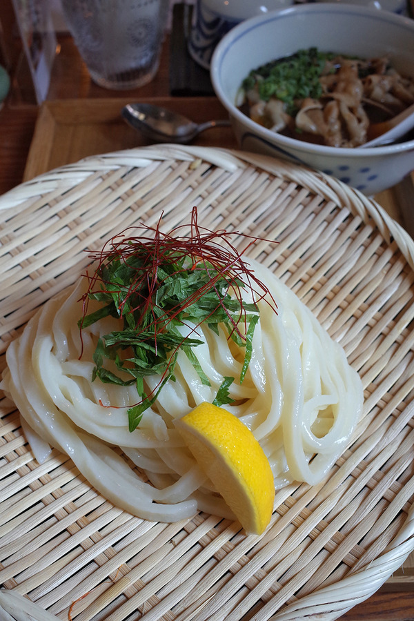 """美野島「侍.うどん」で新メニュー""""宮本武蔵うどん""""が美味しかった。"""