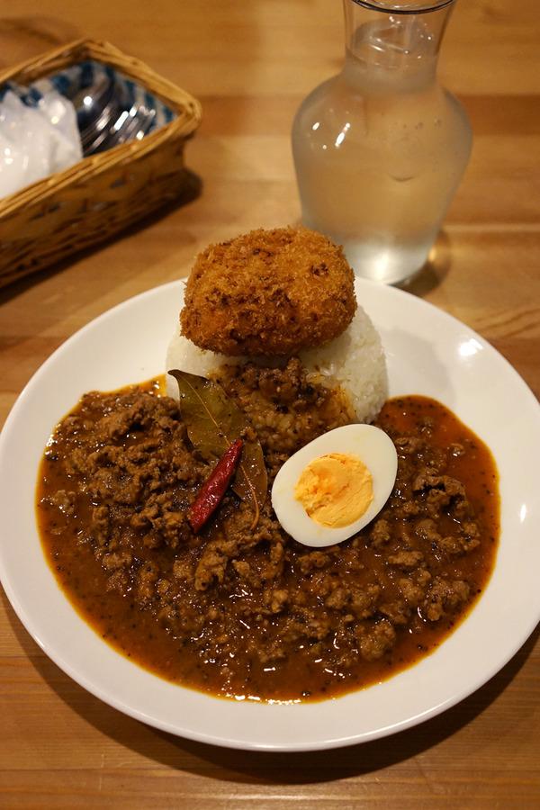 城南区「OKANO CURRY」で、たぶん今年のカレー食べ納め。