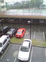昼から雨雨雨…