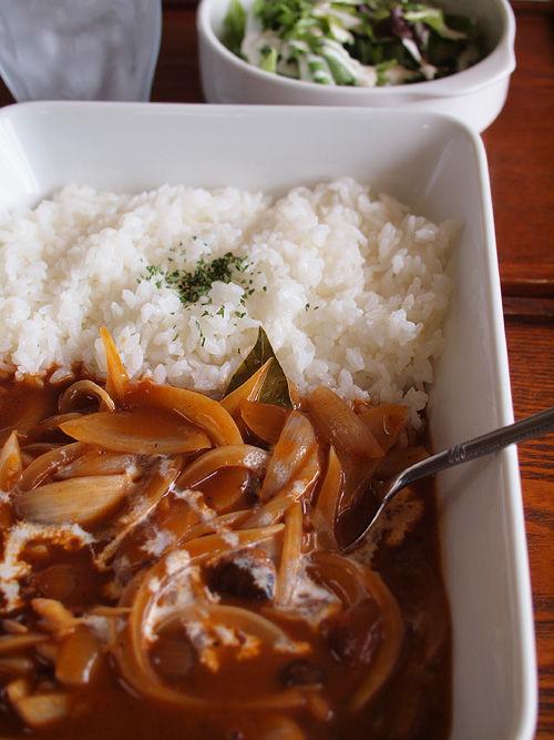 今日のお昼ご飯はイオンのPBハヤシライス88円。