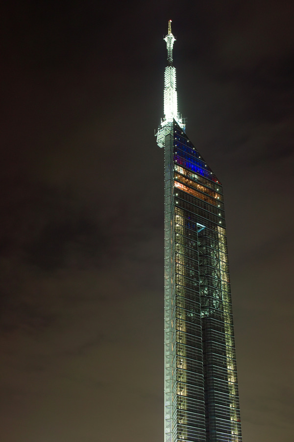 SIGMA DP2sで撮った福岡タワーなど。