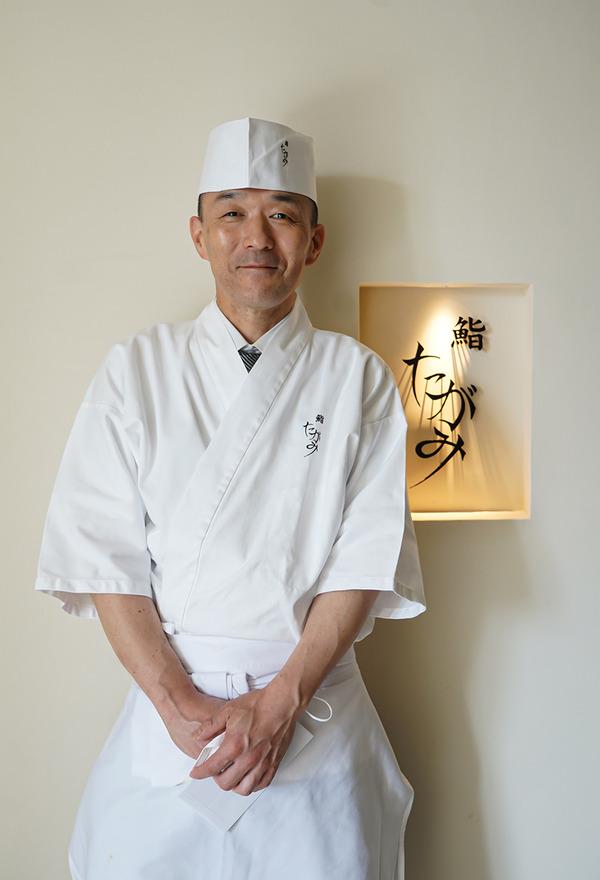 6月1日 西中洲【鮨 たがみ】がオープンしました。(紹介制)