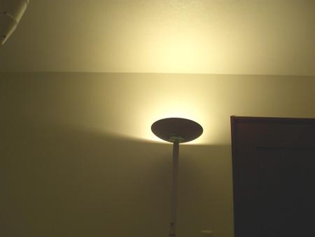 間接照明ドンブリ