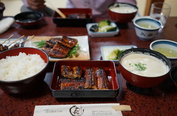 宮崎日帰り出張で西都市「入船」の鰻定食を食べた!!