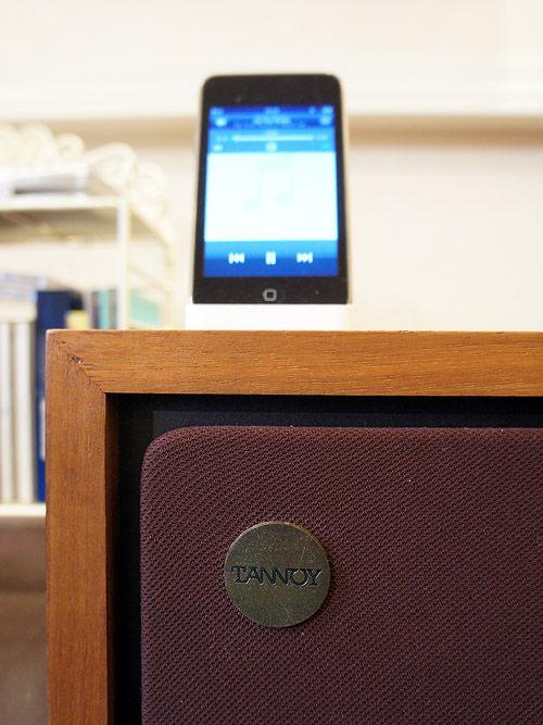 iPodでタンノイを鳴らす。