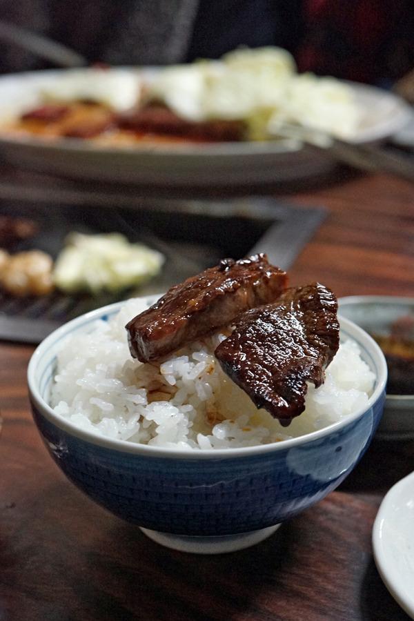 昭和レトロな「焼肉料理 ばってん」に行ってみたくて。