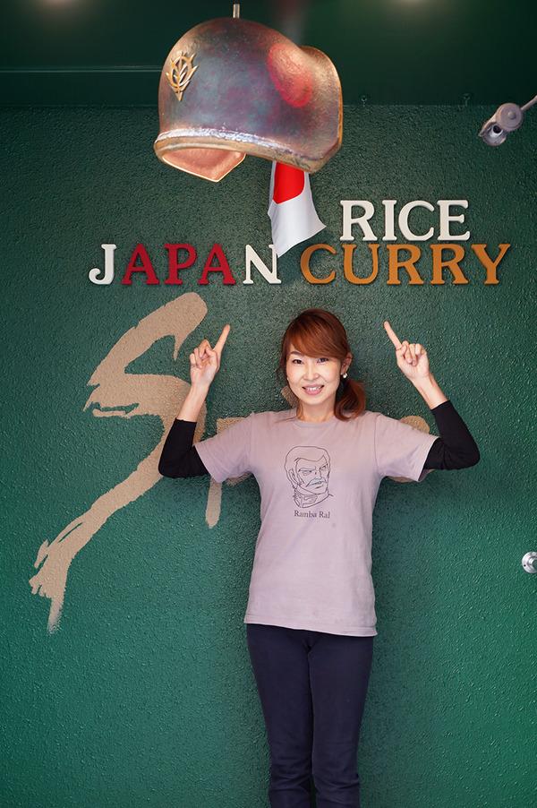 """上川端町【カレー専門店Spice】の""""JAPAN RICE CURRY""""。夜は【焚と肴巻きO】でお手頃コース料理。"""