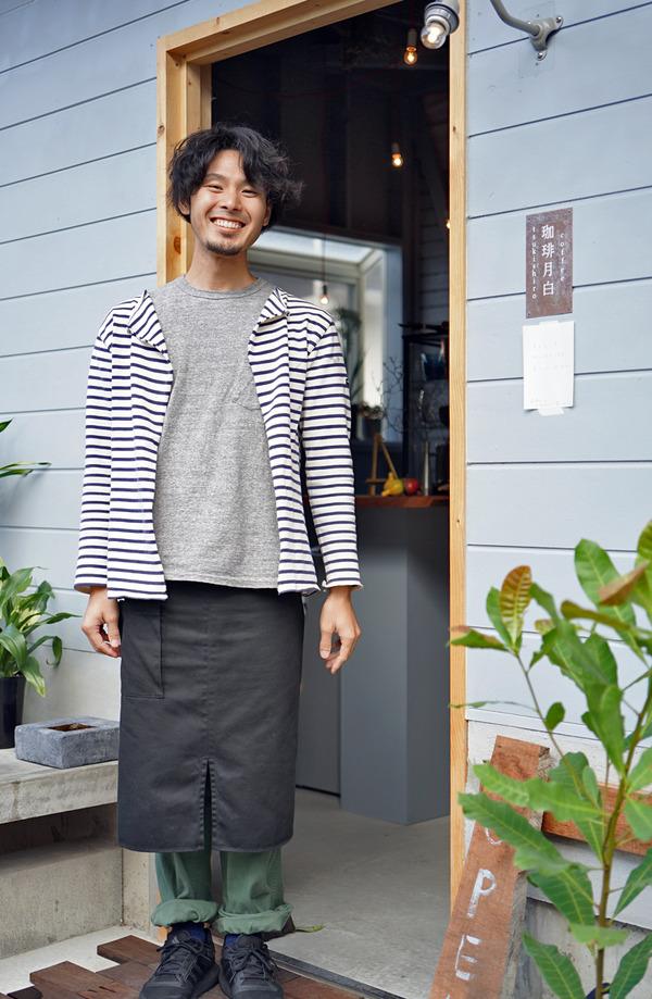 【新店】城南区田島「珈琲月白」からの六本松「エメラダ」のカレー。