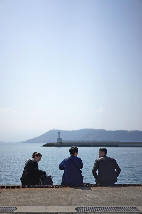 「おにや」に行きたいと言うので志賀島まで遠足。「Sleep Coffee 」「MARIN FORD」「Banx River」「香亭」。