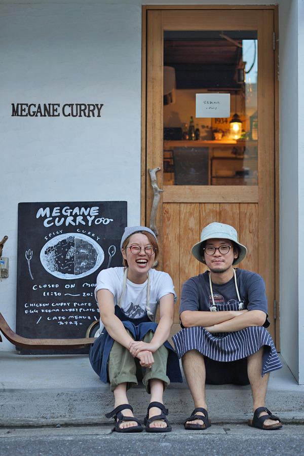 夏の終わりに志賀島「MEGANE CURRY」、西戸崎「Sleep Coffee」や「Banx River」「かえる食堂 蓮」。