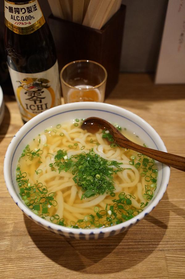 「酒呑み麺蔵 ゆうのや」で遅い晩ご飯。