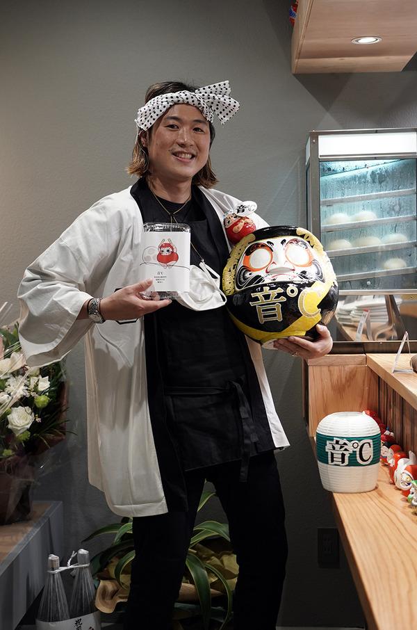 美野島商店街に3月18日OPENする【音℃】は博多糸島雷山豚専門の塩焼きそばと豚まんの店。