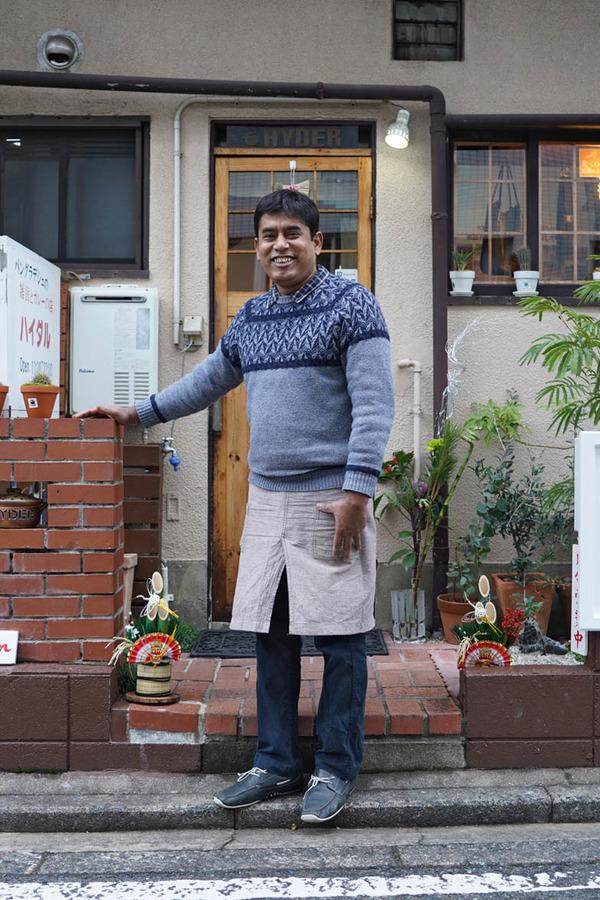元旦にバングラデシュカレー【ハイダル】でローストチキンカレー、からの【MODOO'S COFFEE】でケニアドリップ。