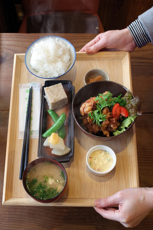 """今週の「かもめ食堂」の""""かもめ御膳""""は和定食でした。"""
