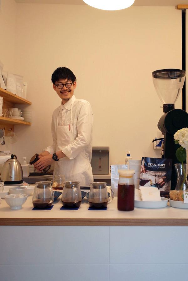 夜は「MANLY COFFEE」「豆藤(加藤本店)」「カフェあぴ」「MOMENT COFFEE」。