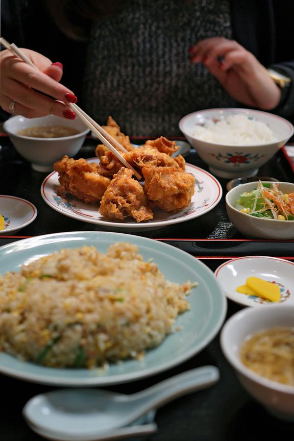 夜も長女と中華料理「香亭」で晩ご飯。