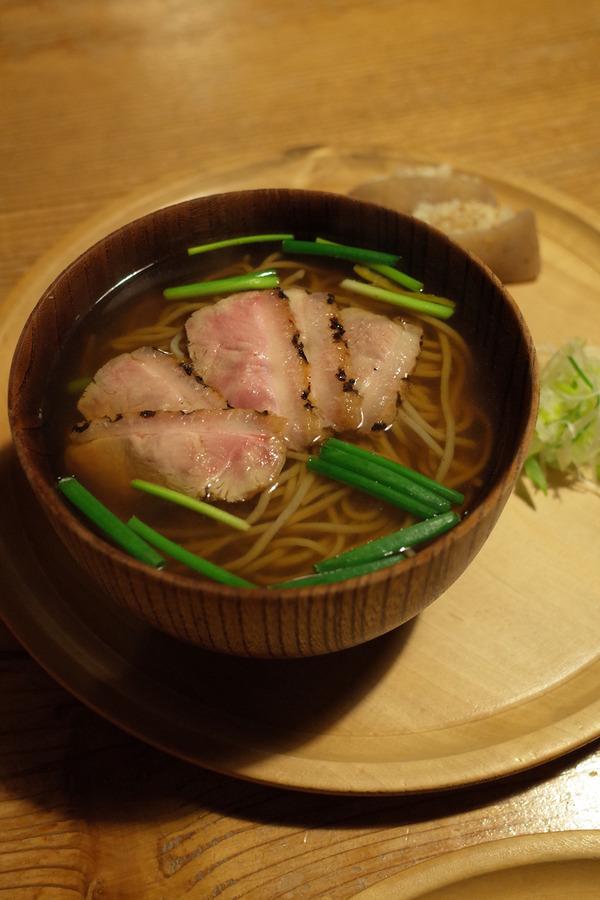 久しぶりに篠栗若杉山「蕎麦文治郎」で美味しい蕎麦。