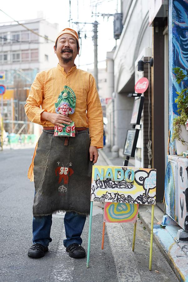 """インド帰りの【カレーNADO】で""""乳・おっぱいカレー""""、からの美野島商店街へ。"""