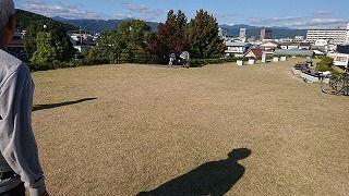 竹島命山頂上
