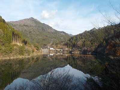 長澤ダム湖2