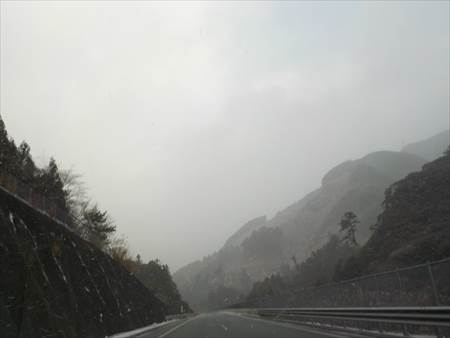 愛媛県往路