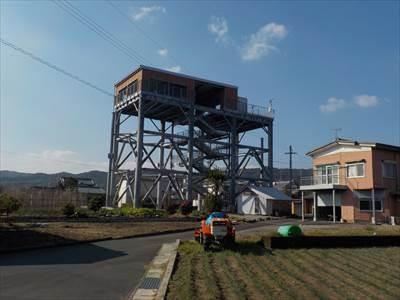 黒潮町津波雛タワー
