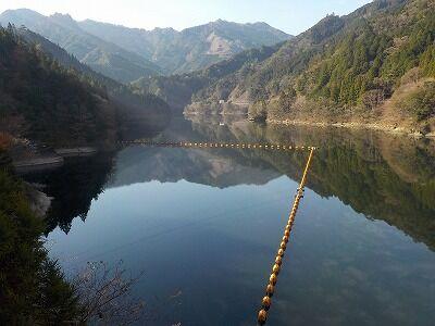 長澤ダム湖