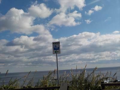 津波避難場所の表示