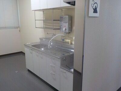 2階湯沸かし室