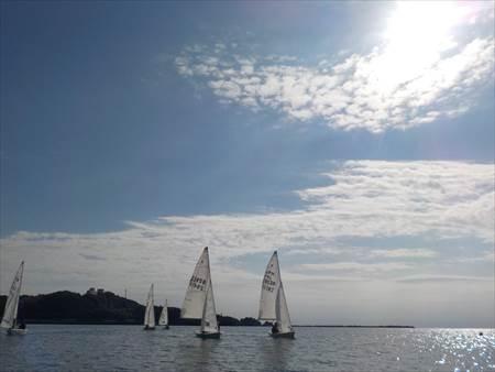 高知大学ヨット部練習
