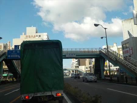 徳島市歩道橋1