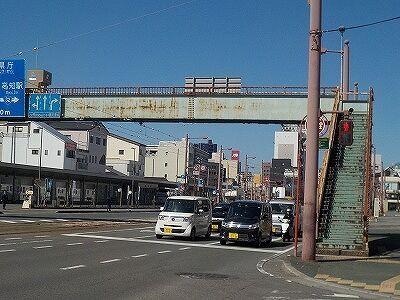 はりまや橋歩道橋