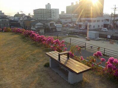 竹島命山かまどベンチ