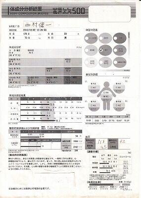 体成分分析結果2012年12月2日