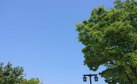 5月の空①