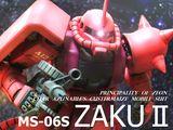 MGシャア専用ザクver2.0製作日記
