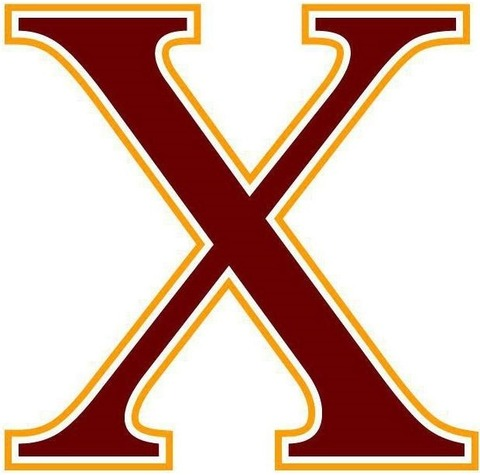 Cadets_X_romannumeral_maroongold